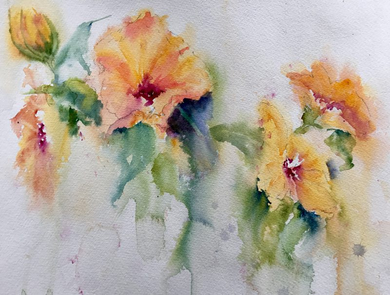 Marilyn Williams Watercolor Painting Class