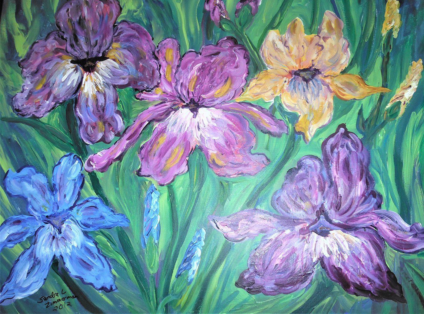Sandra Zimmerman, Iris's