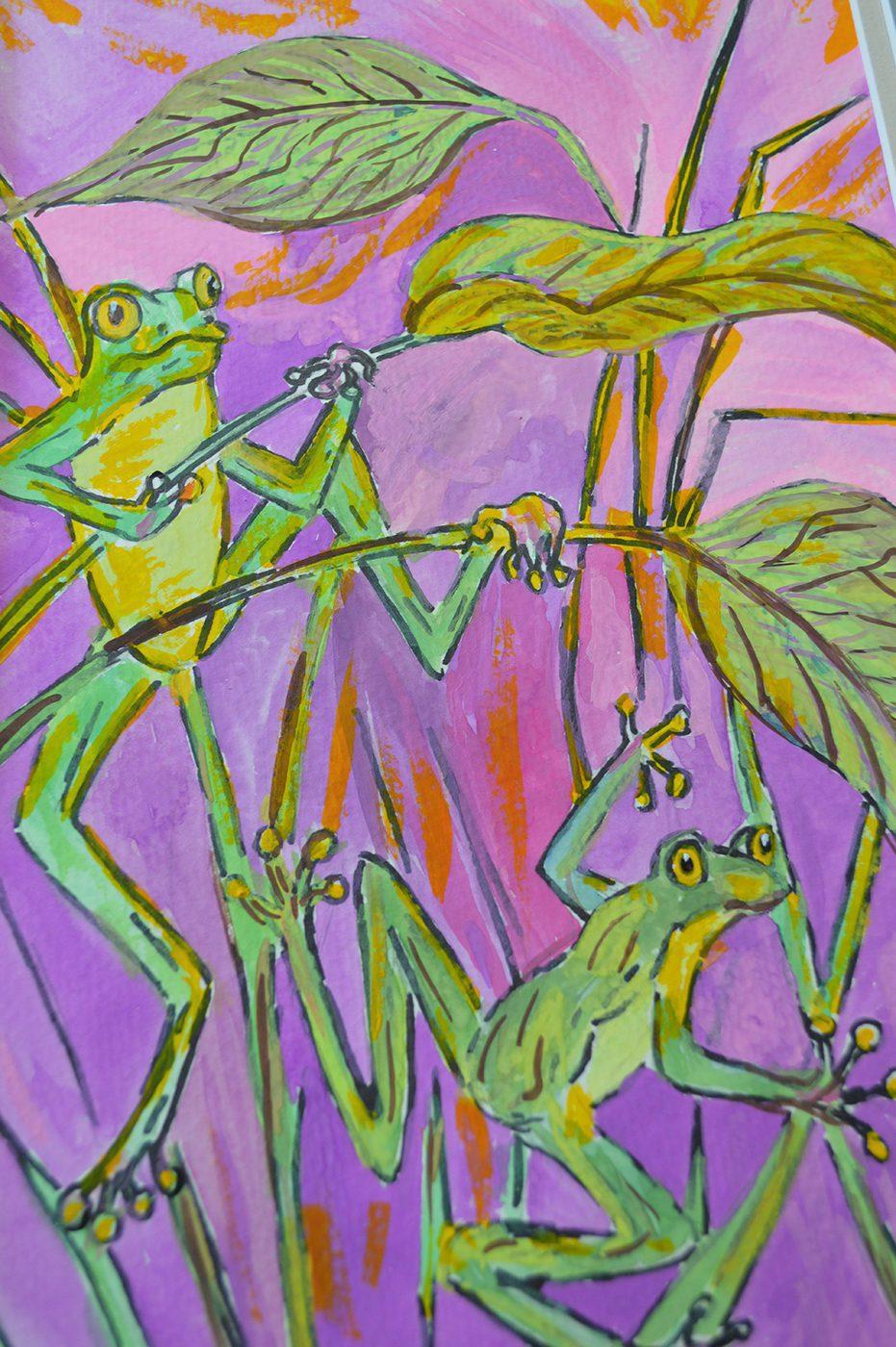 Sandra Zimmerman, Tree Frogs