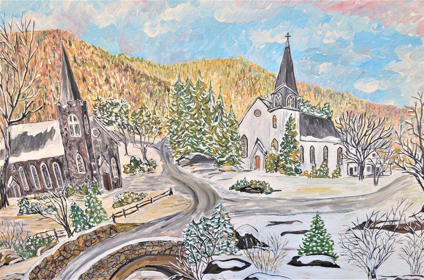Sandra Zimmerman, The Twin Churches
