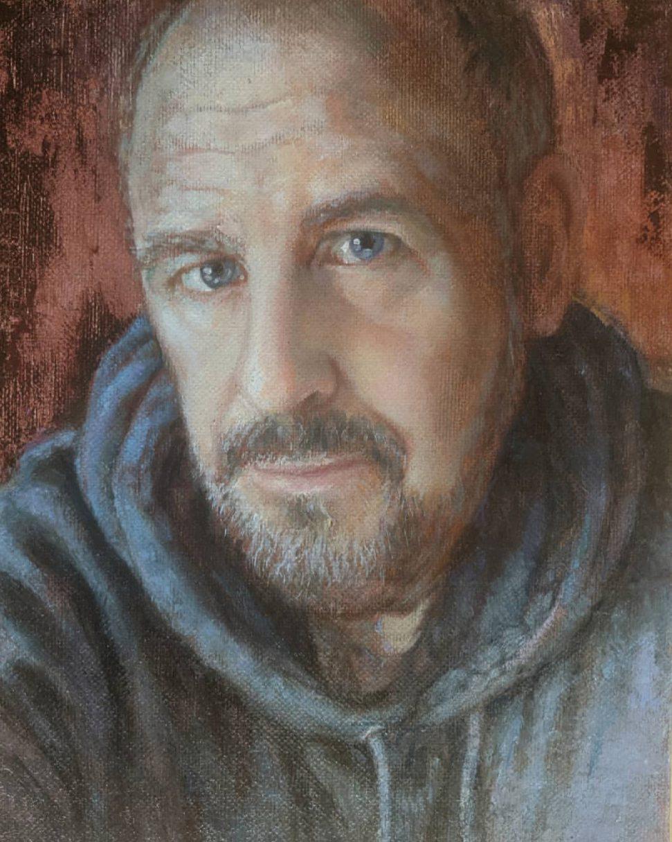 Wayne Hibschman, Self Portrait