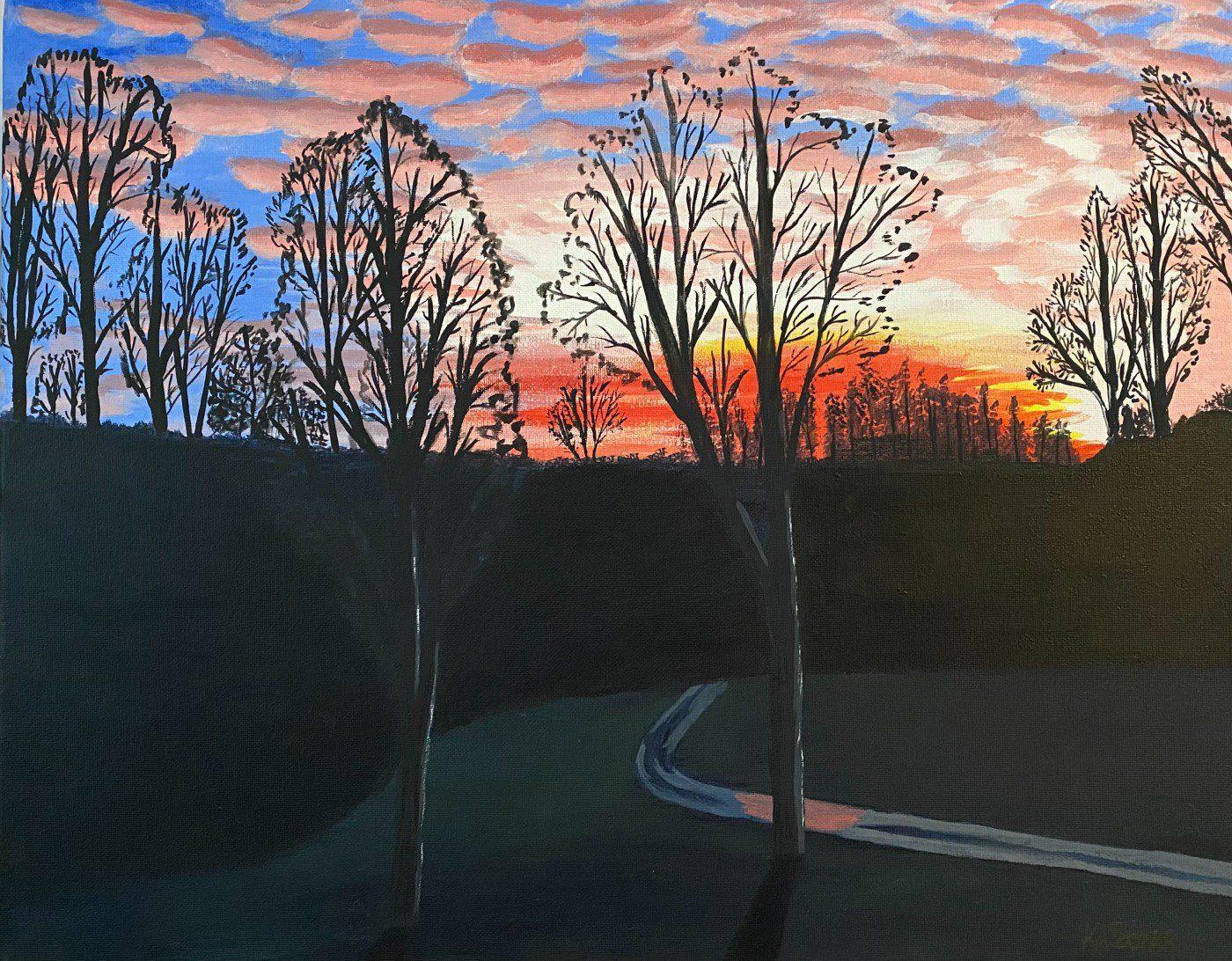 Kelly Sterr, Morning Sunrise
